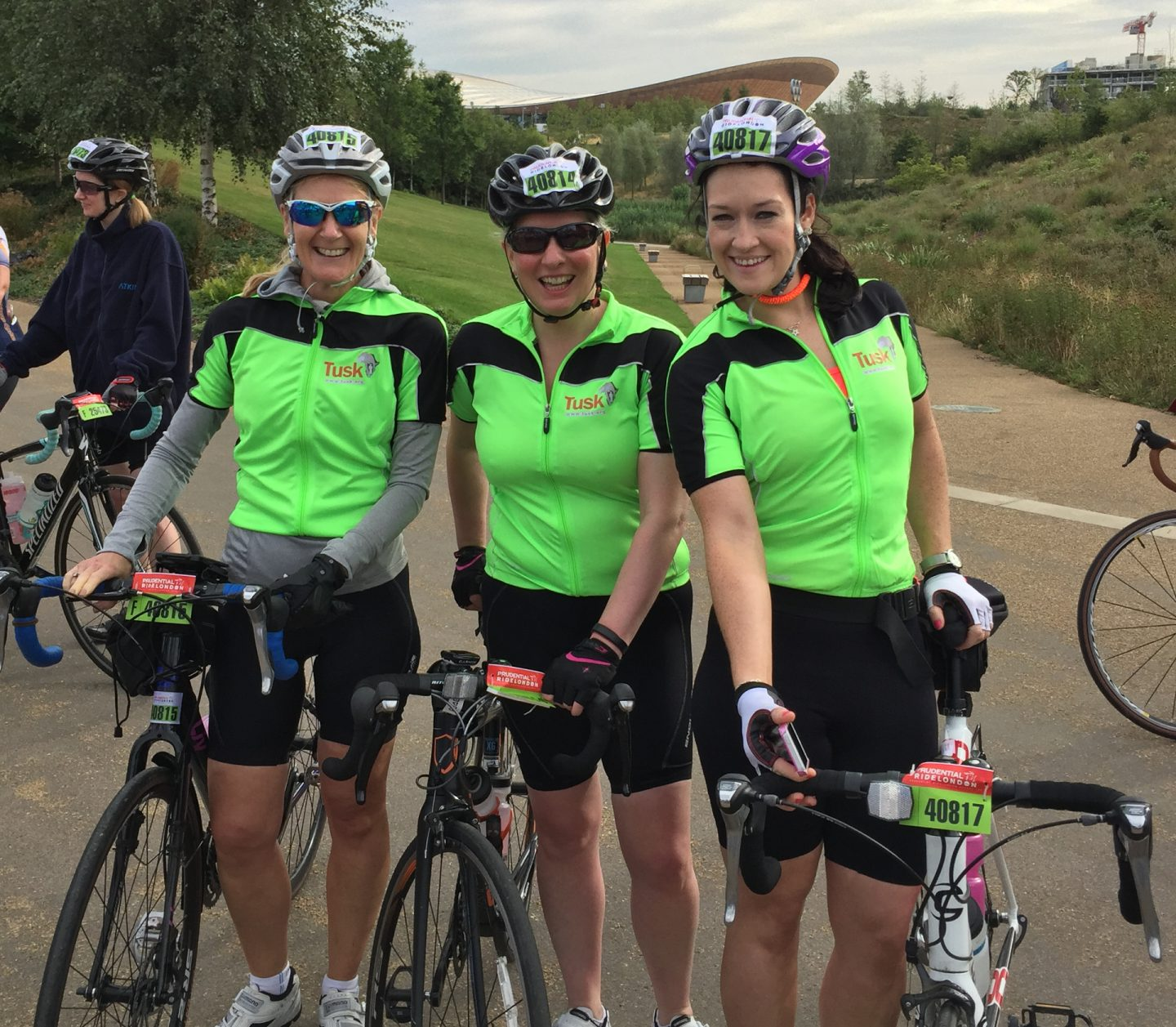 Prudential Ride London Natasha Templeton Julia Herold Joanna Axon