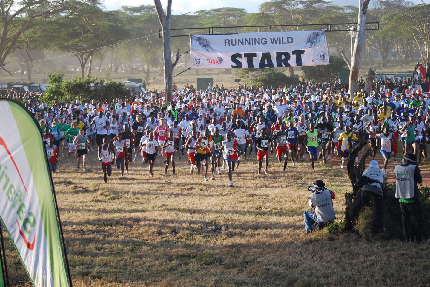 Safaricom Marathon Start