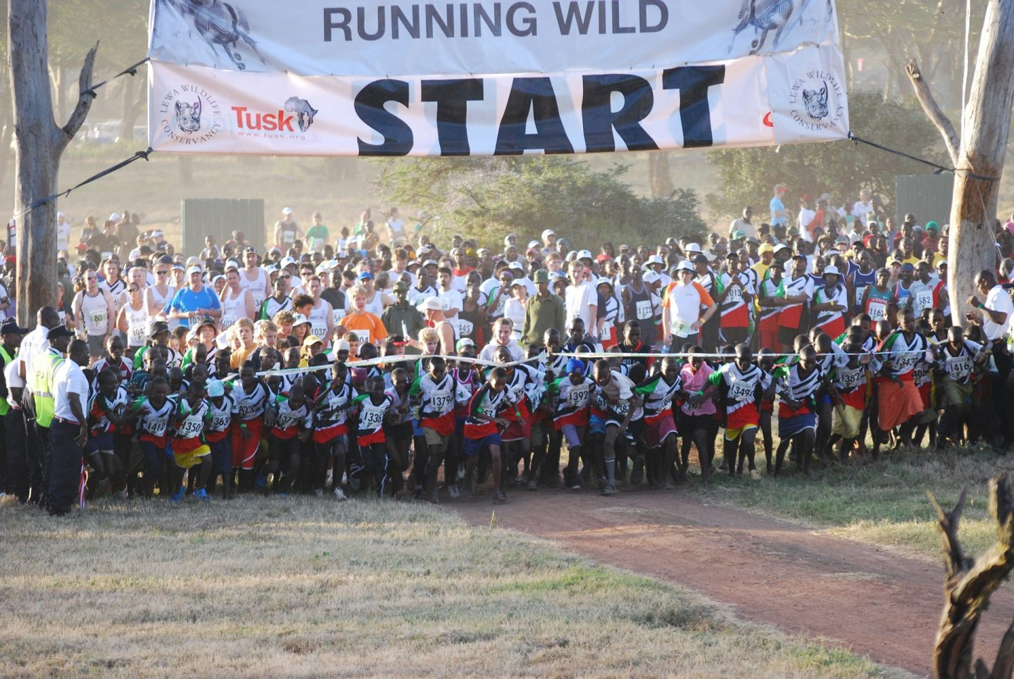 Safaricom Marathon Kids Race Start