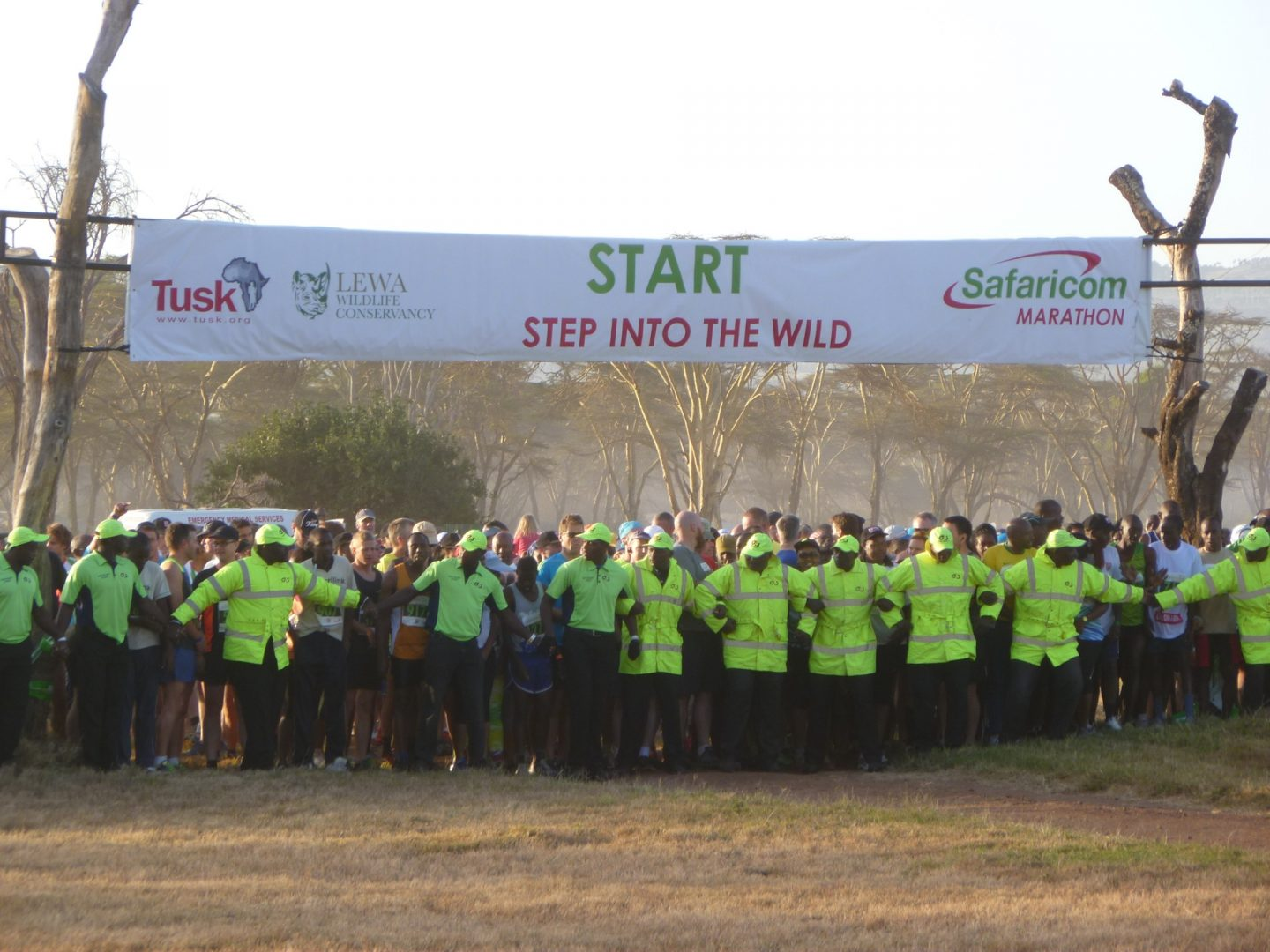 Safaricom Marathon Start Line Up