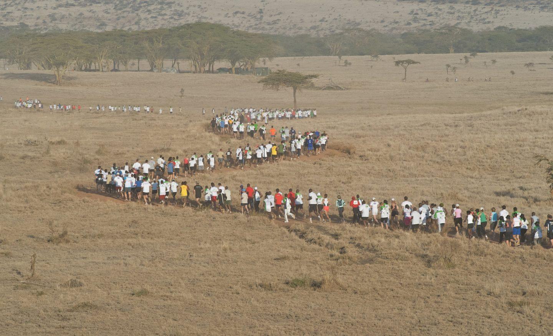 Tusk Safaricom Marathon Runners