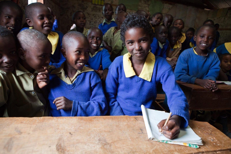 Tusk Trust - Lewa Primary School Students © Natalie Solveland