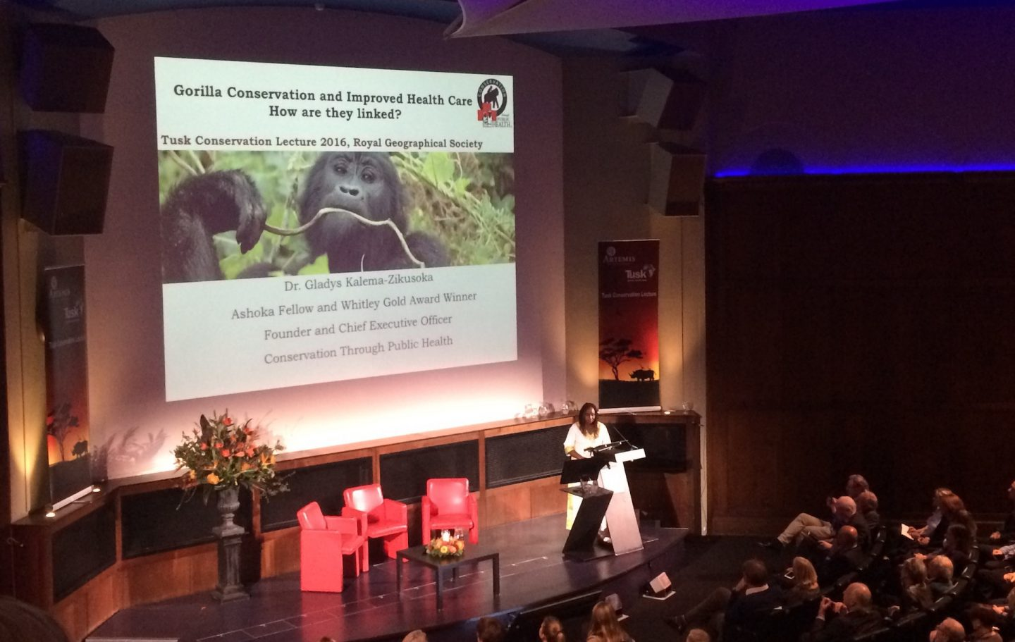 Tusk Conservation Lecture at the Royal Geographical Society 2016