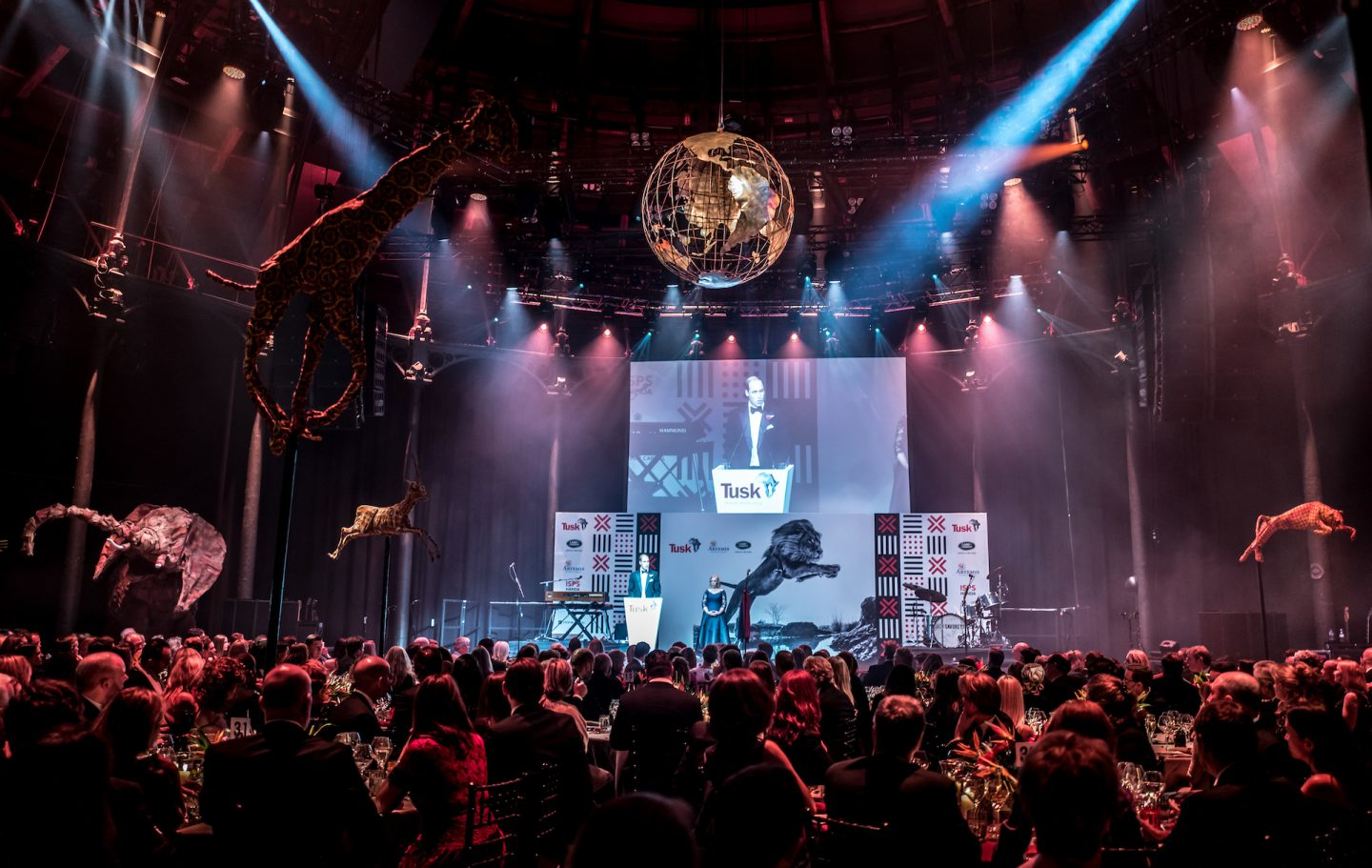Tusk Ball 2017 at the Roundhouse