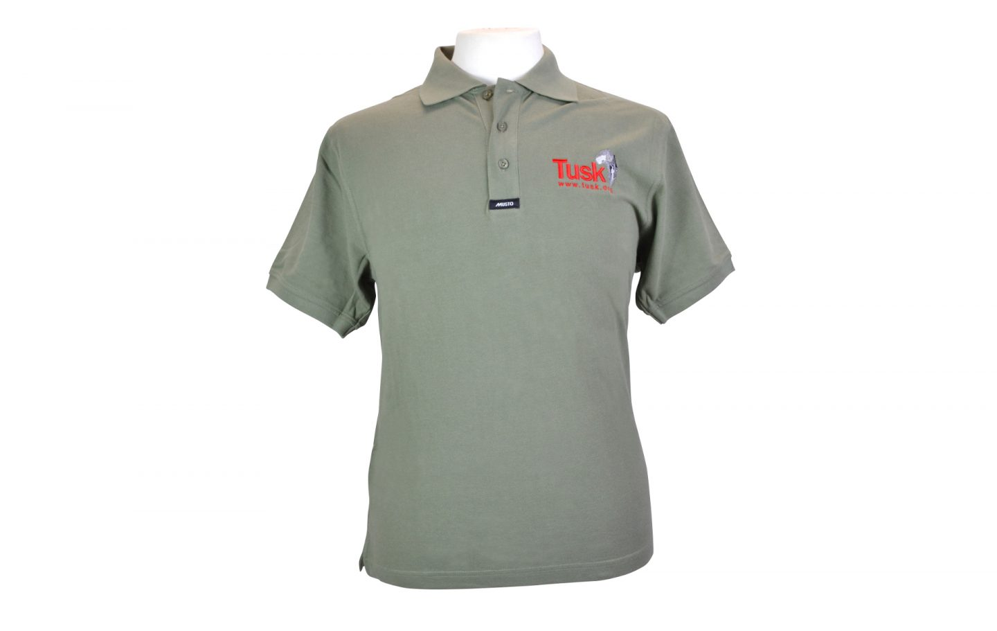 Tusk Khaki Green Polo