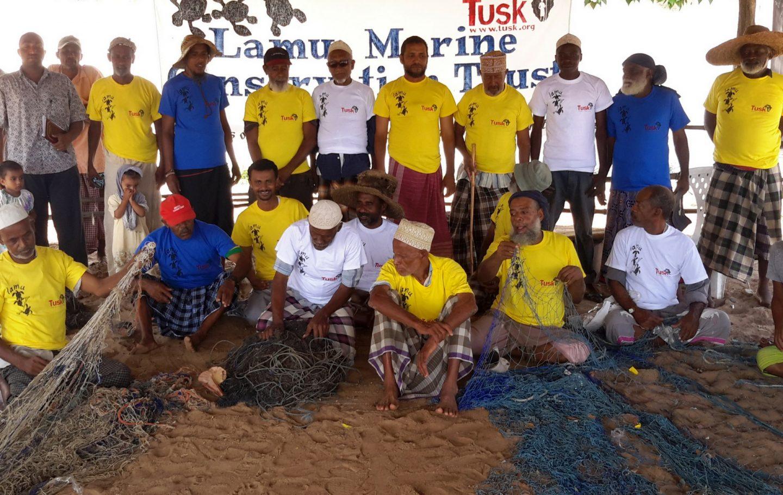Tusk Trust - Lamu Marine Conservation Trust Team