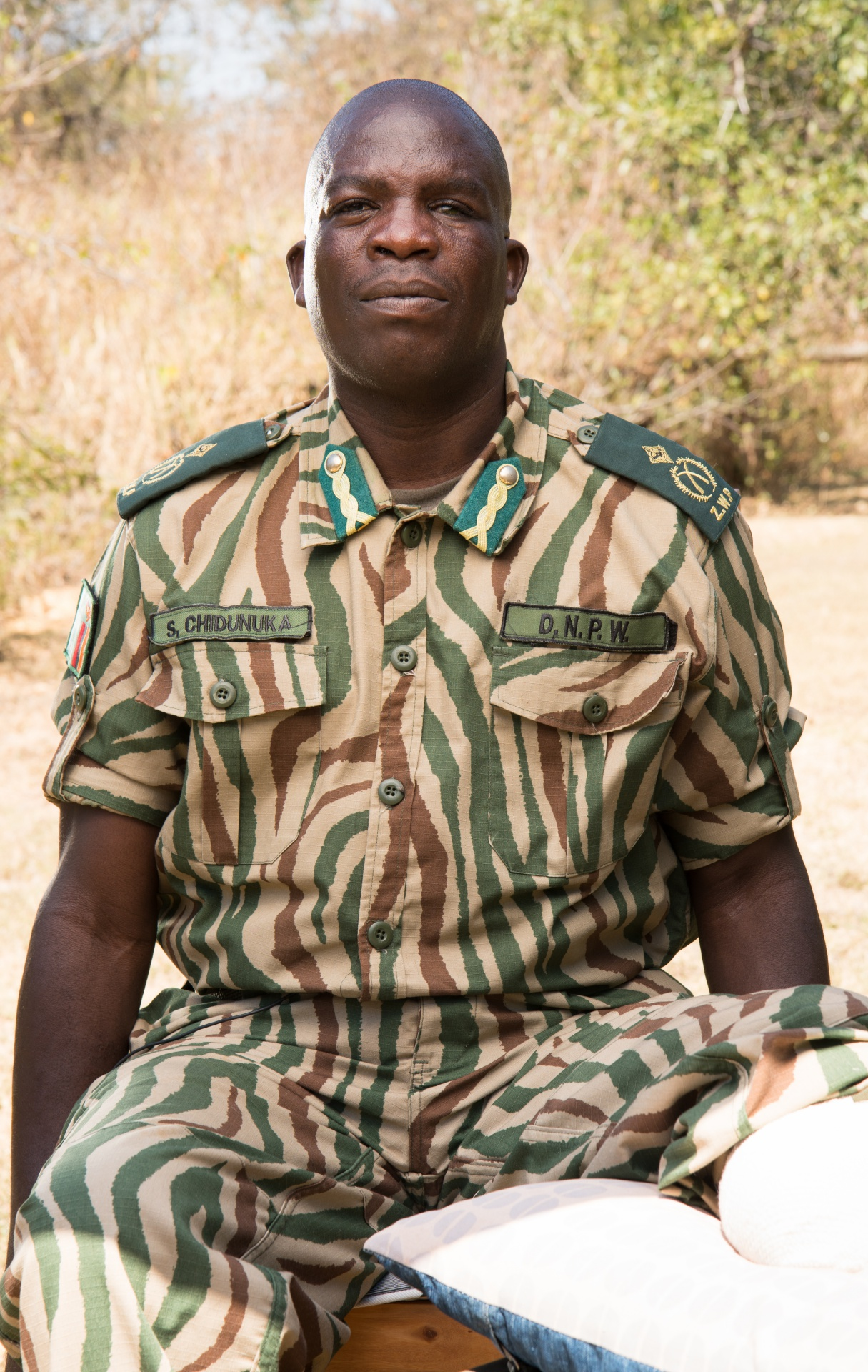 Solomon Chidunuka | 2017 Tusk Award Wildlife Ranger, Winner