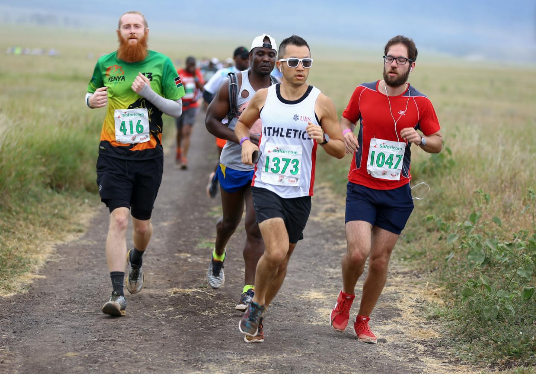 Safaricom Marathon 2018 participants