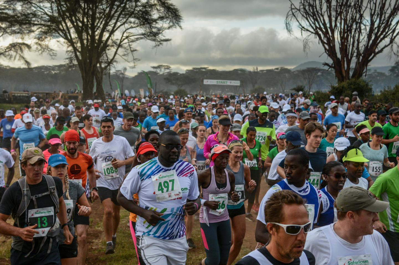 Safaricom Marathon 2018 Start