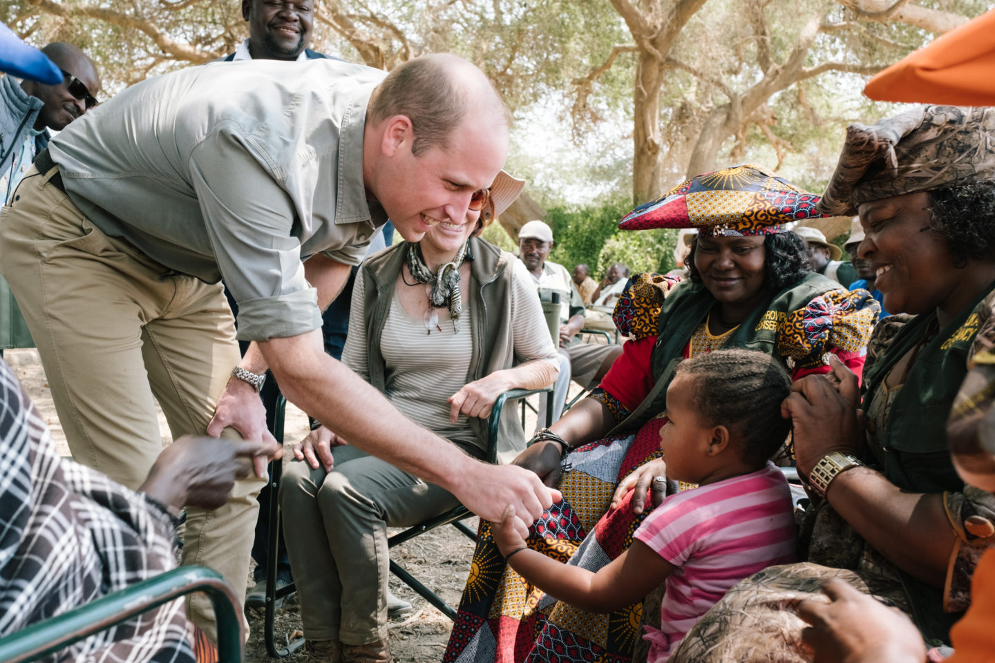 Prince William Visits Tusk Projects in Namibia