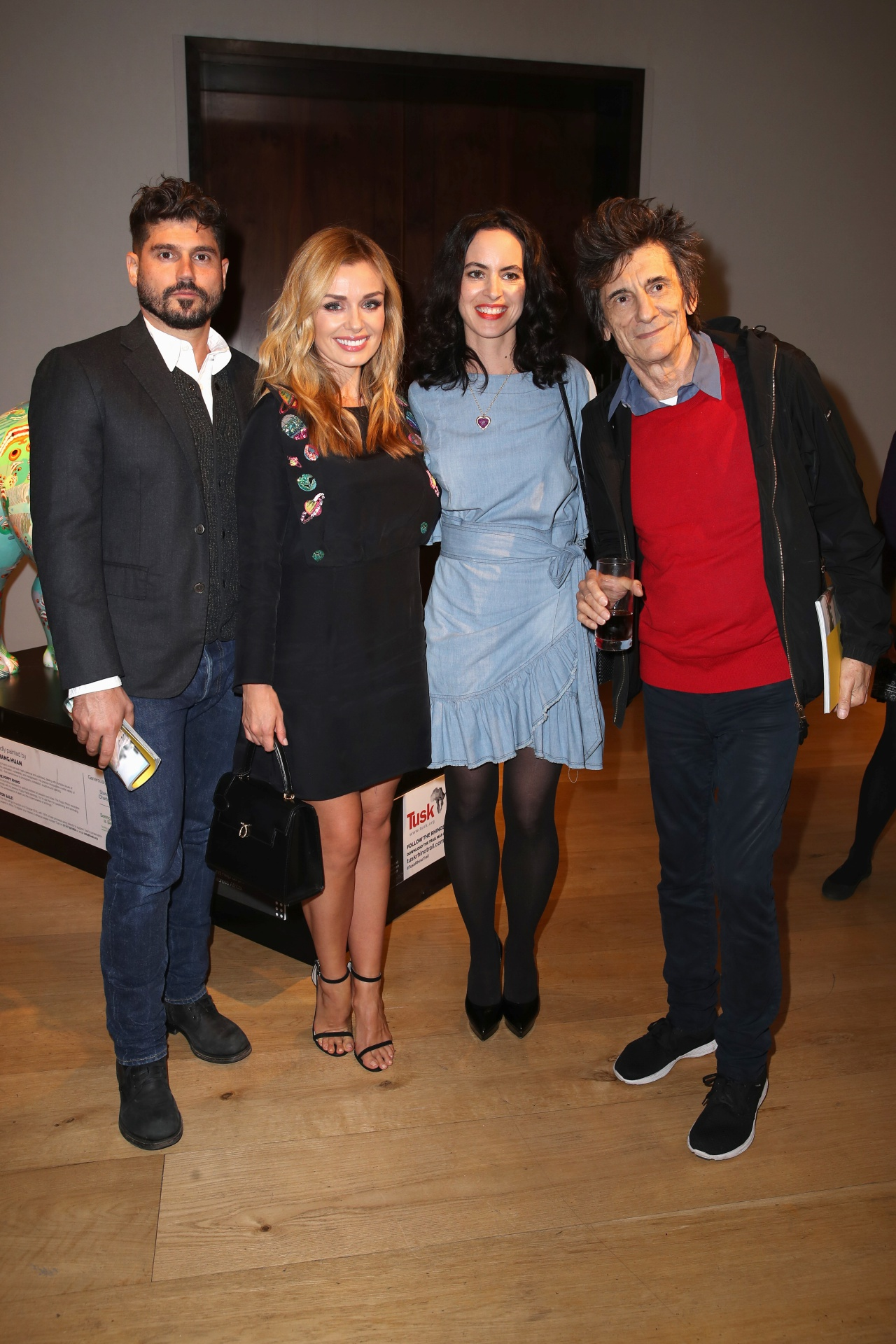 Katherine Jenkins & Andrew Levitas with Ronnie & Sally Wood