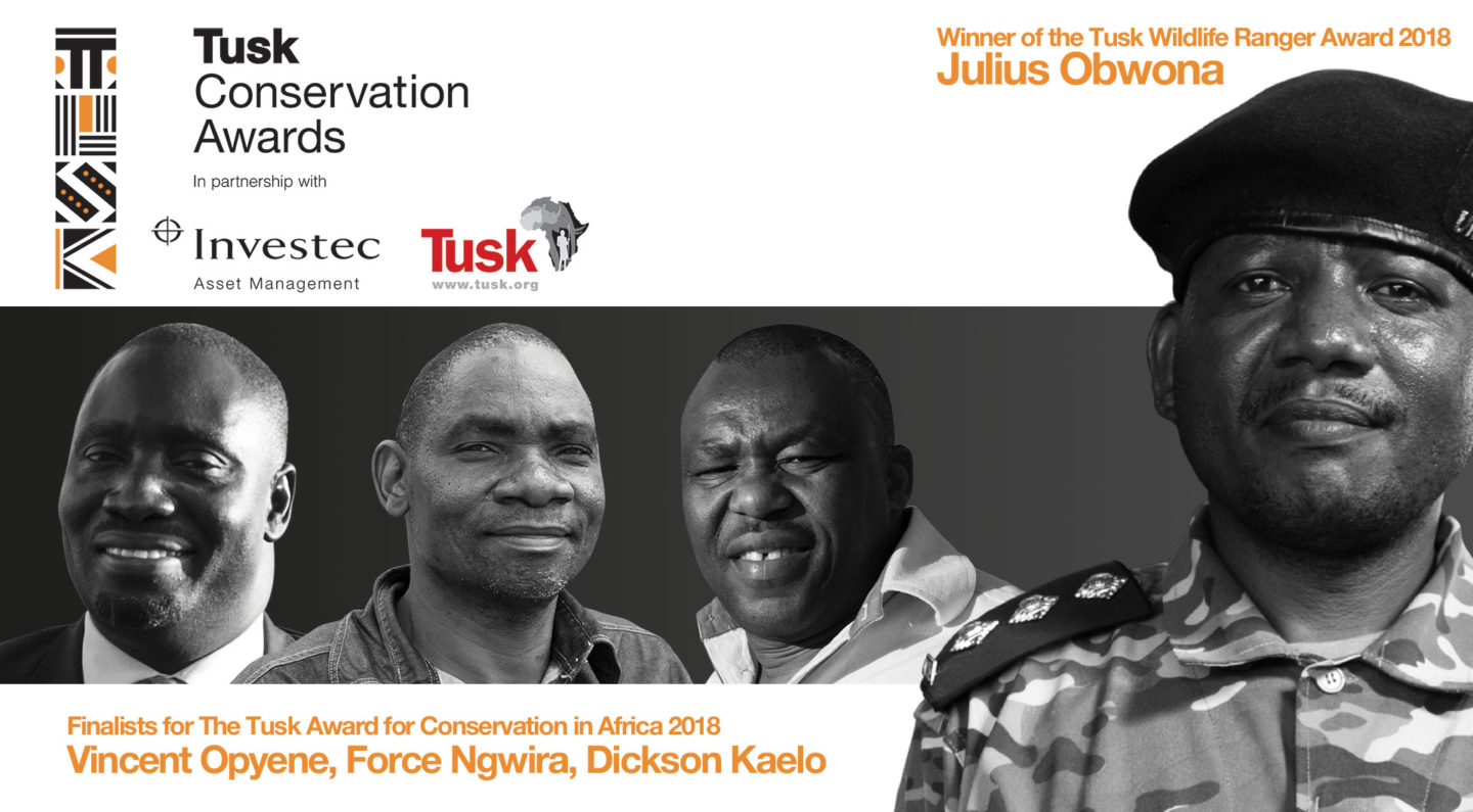 Tusk Conservation Awards 2018