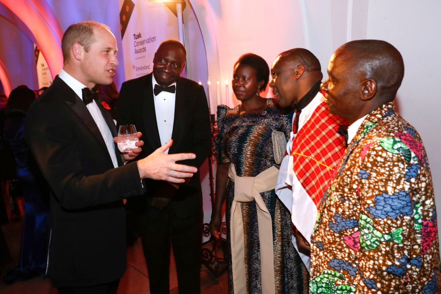 Prince William honours Conservation Award Winners