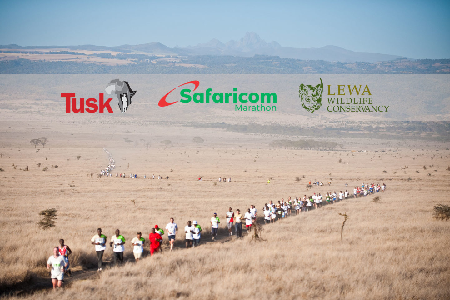 Safaricom Marathon - Mount Kenya and Runners