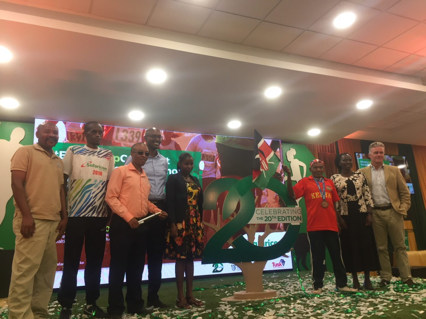 Safaricom Marathon 2019 SM19 Launch