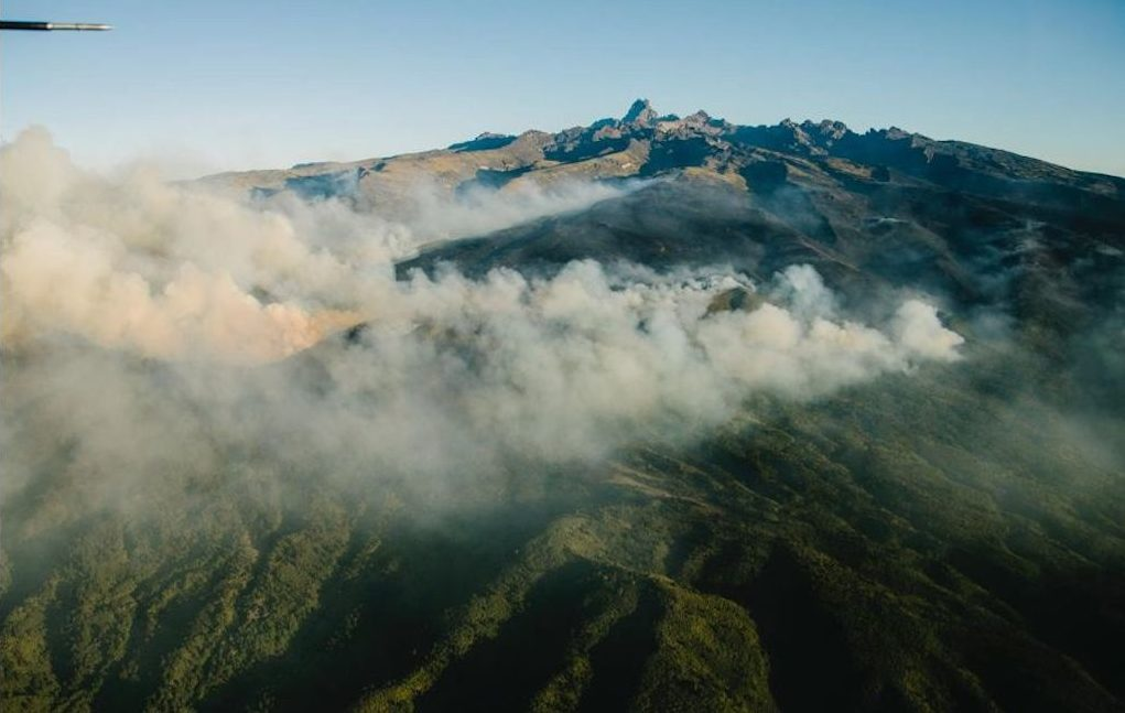Mount Kenya Fire
