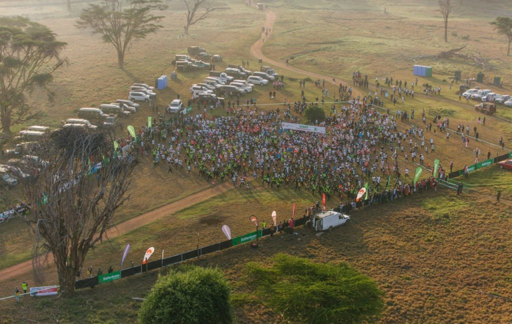 Start of the Safaricom Marathon 2019 © Bobby Neptune