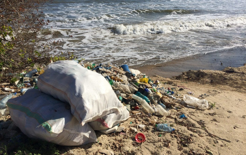 Lamu Beach Plastic Collection