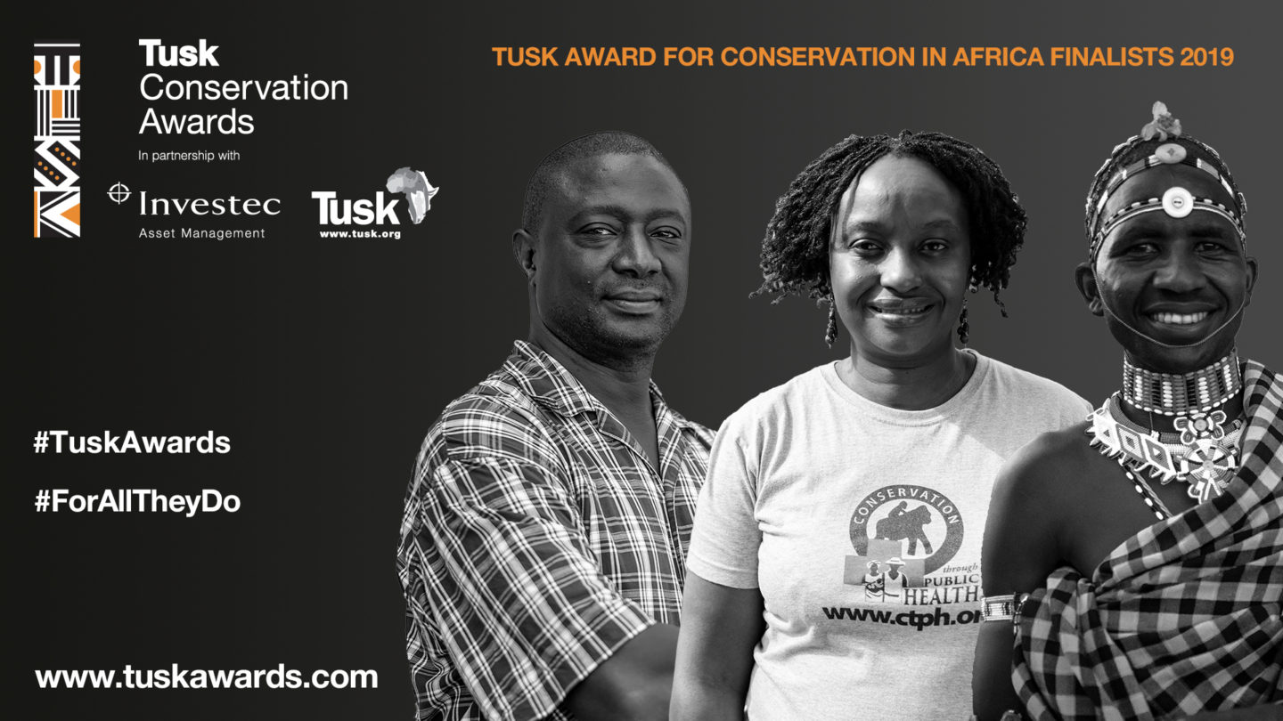 Tusk Conservation Award 2019 Finalists