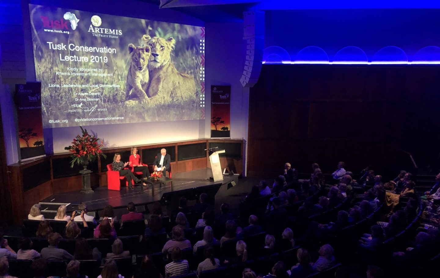 Tusk Conservation Lecture 2019