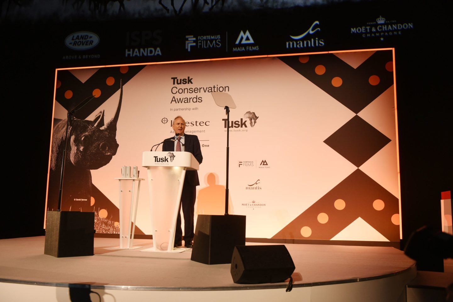 Tusk CEO Charlie Mayhew spoke of how the finalists provide 'real hope for the future of Africa's natural heritage'
