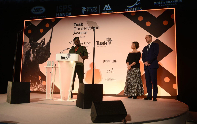 Tusk Wildlife Ranger Award 2019 Winner Benson Kanyembo
