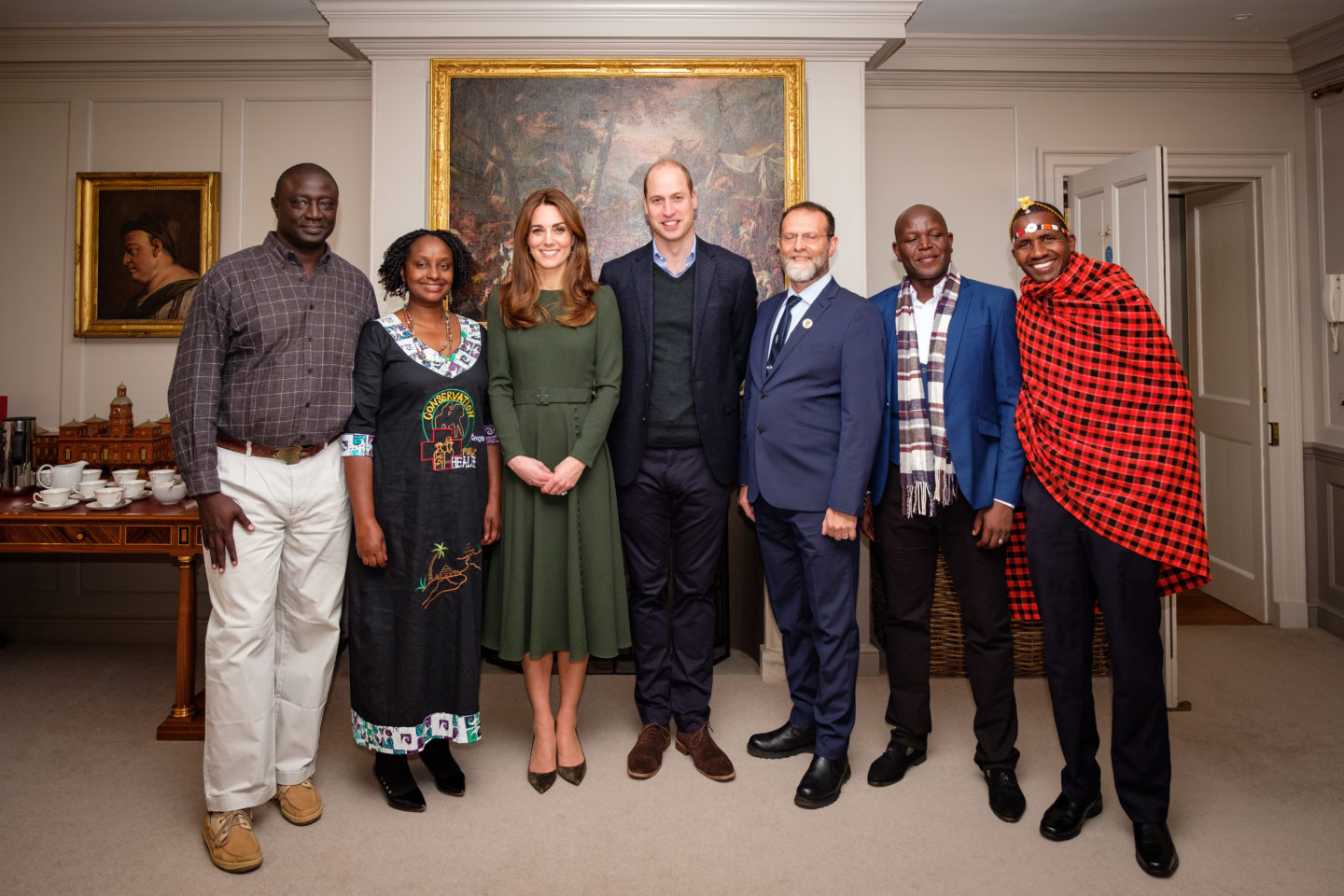The finalists had the opportunity to meet TRH The Duke and Duchess of Cambridge at Kensington Palace, ahead of the Awards ceremony