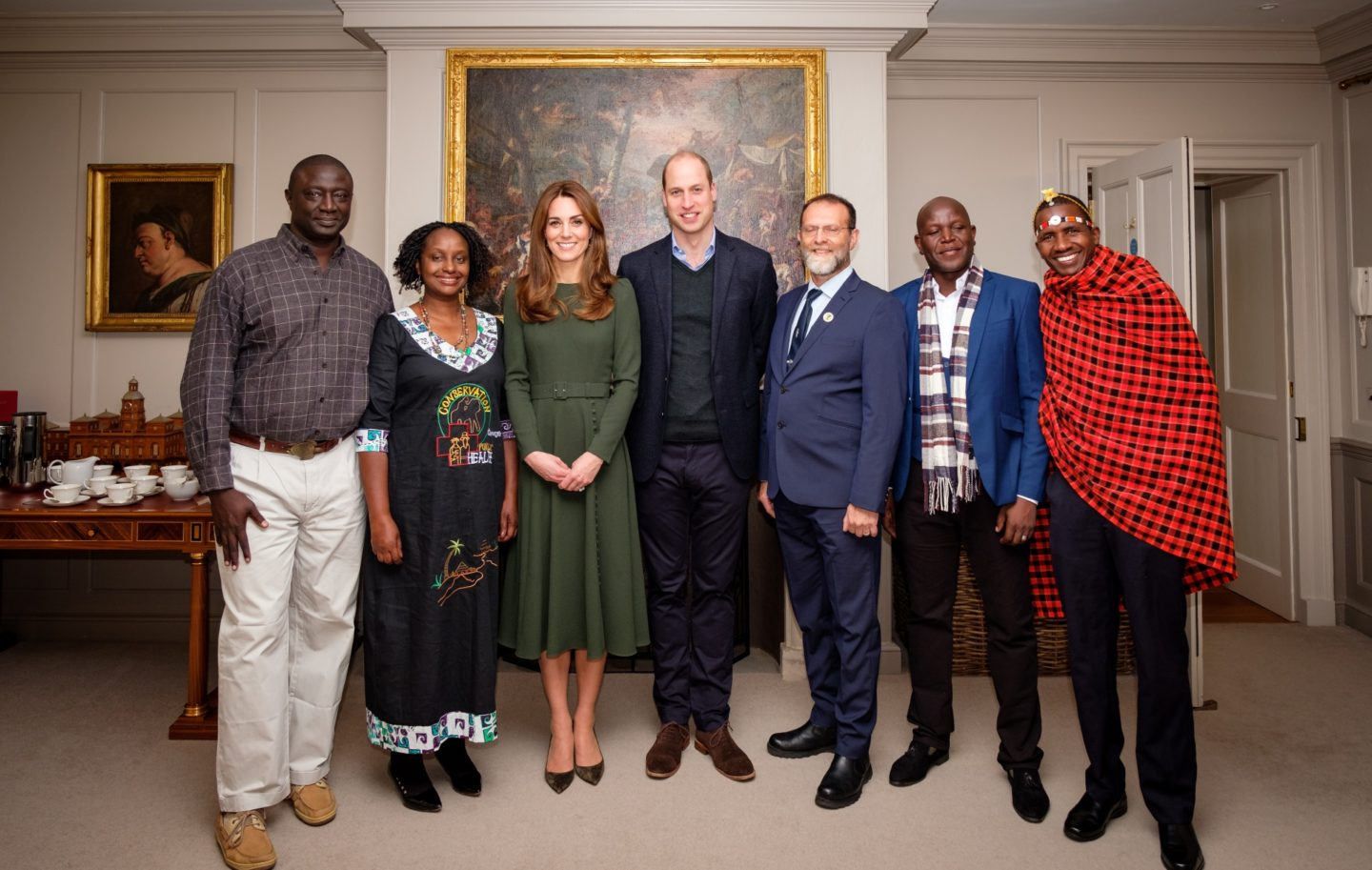 Tusk Conservation Awards 2019 - Winners and Finalists at Kensington Palace 20th November