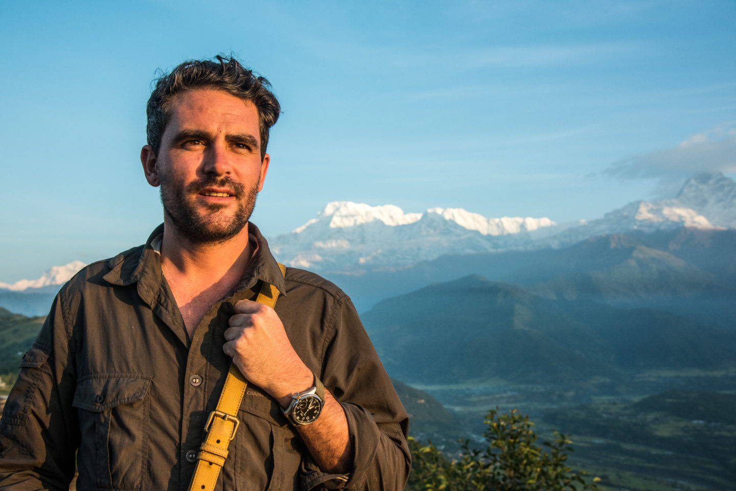 Levison Wood, explorer, writer, photographer & Tusk Ambassador