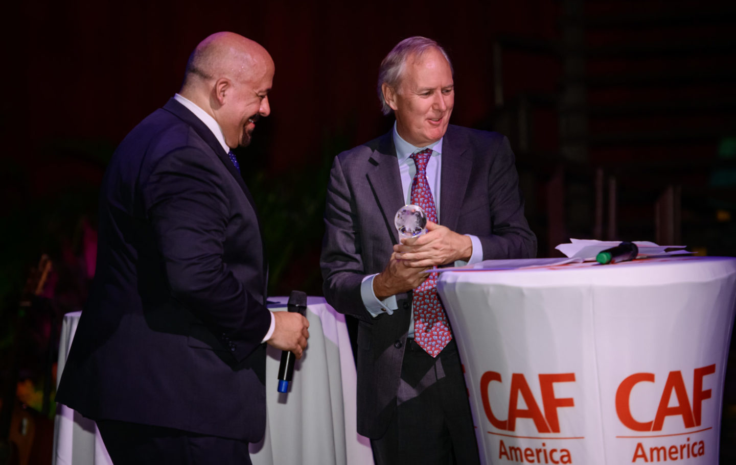 Tusk Wins CAF America International Philanthropy Award