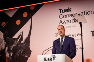 Tusk Awards Prince William 2019