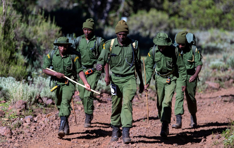 Wildlife Ranger Challenge - Mt Kenya Trust - by Sarah Marshall