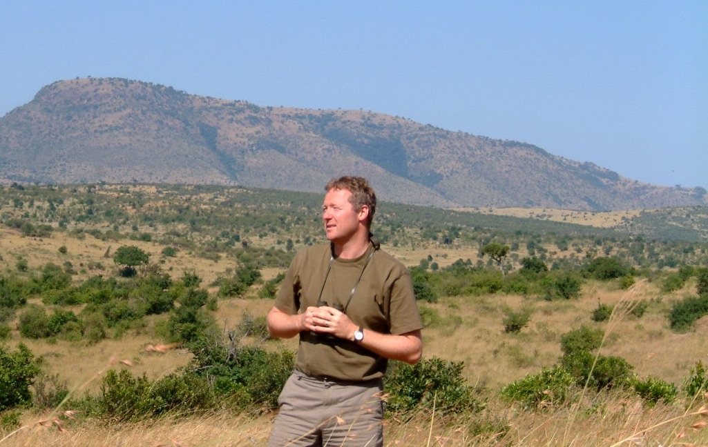 Rory Bremner in Kenya