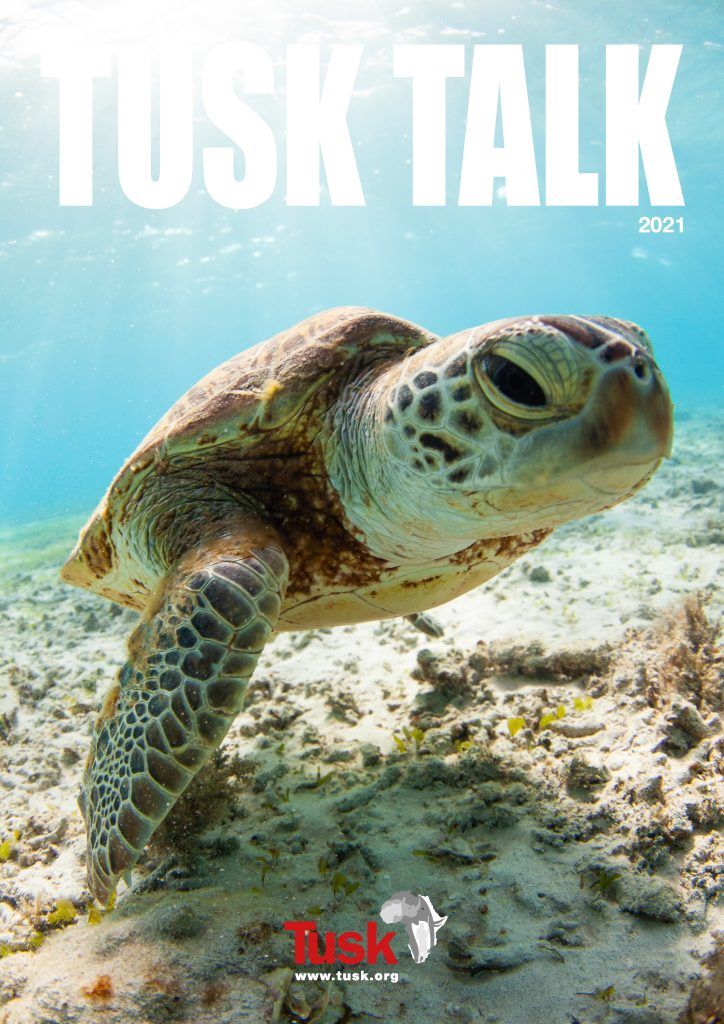 Tusk Talk 2021 - Front Cover