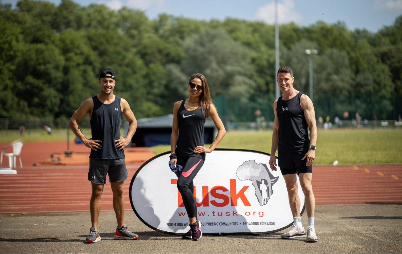 Tusk Ambassador Emma Weymouth took part in the event organised by TrackLifeLDN for the Virtual Lewa Safari Marathon (c) ImageGod