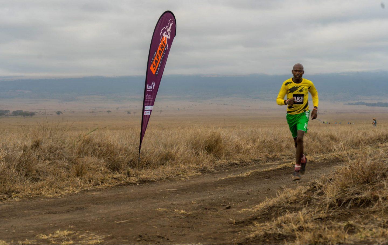 Running the Virtual Lewa Safari Marathon 2021 at the Lewa Wildlife Conservancy (c) David Kabiru